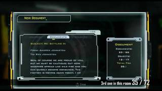 Hydrophobia (PC) [HD] Collectibles Guide Act 1