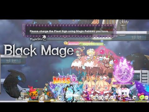 MapleStory | Expedition Mission: Activate Fleet Milepost | Black Mage