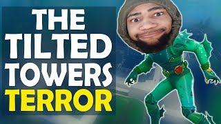 THE TILTED TOWERS TERROR | DAEQUAN GETS TROLLED | HIGH KILL FUNNY GAME -(Fortnite Battle Royale)