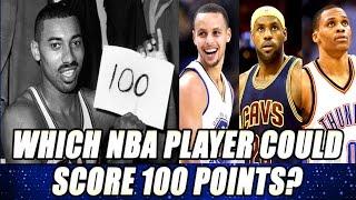 Which nba player will break wilt chamberlain 100 point scoring game record?