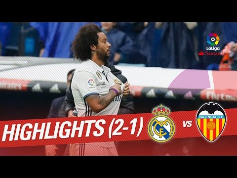 Thumbnail: Resumen de Real Madrid vs Valencia CF (2-1)