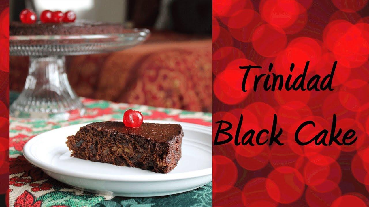 Trinidad black cake recipe