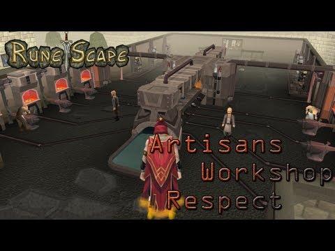 Runescape 3. Scea - (T) Completionist Cape Requests Ep. 2 - Artisans Workshop Respect