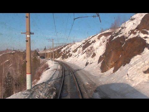 Алапаевск - Егоршино. Вид из окна последнего вагона. Часть 1