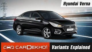 2017 Hyundai Verna | Variants Explained | CarDekho.com