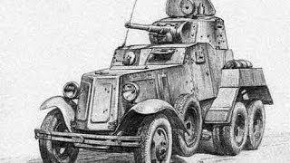 Стендовий моделізм. Збірка радянського бронеавтомобіля БА-10. М1/35