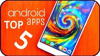 Top 5 Latest UNIQUE Android Apps | Best 5 Android APPS |BANGLA | May - 2018