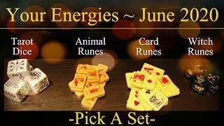June 2020 Energies & Blessings! ~ Pick A Set