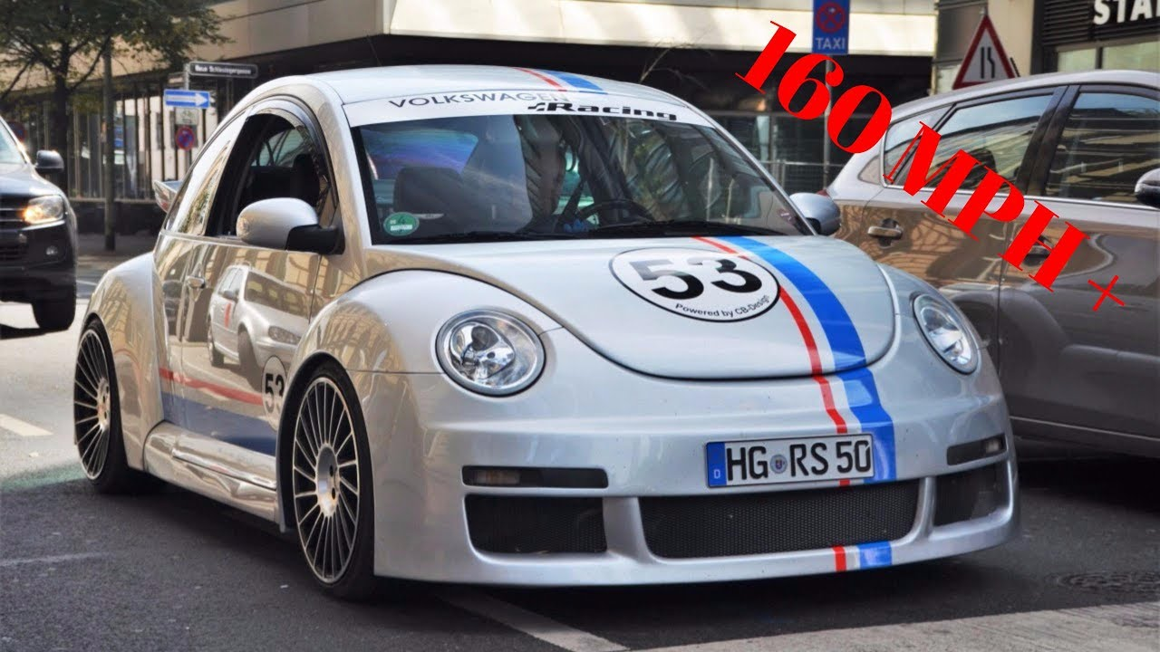 best sleeper car 160 mp h volkswagen new beetle rsi 39 00 drag tune gt6 youtube. Black Bedroom Furniture Sets. Home Design Ideas