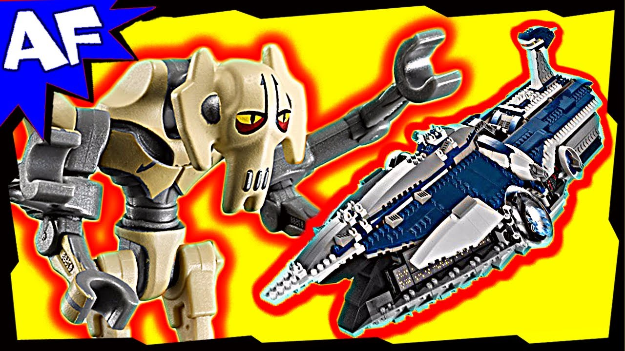 General Grievous Malevolence 9515 Lego Star Wars Animated Building