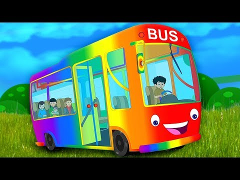 Le ruote sul bus | canzone per bambini | italiani filastrocca per bambini | The Wheels On The Bus