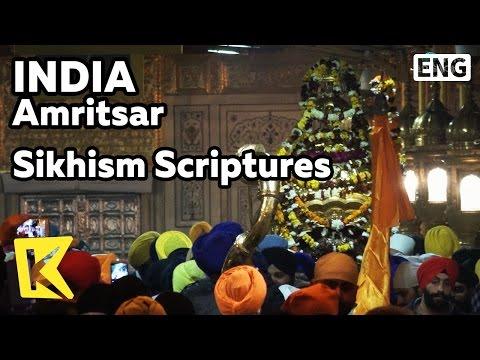 【K】India Travel-Amritsar[인도 여행-암리차르]살아있는 경전/Harmandir Sahib/Temple/Golden Temple/Sikhism/Scriptures
