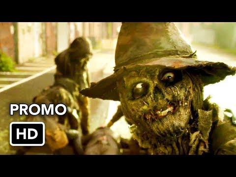 Scarecrow Gotham'ın 5.Sezon Fragmanında Yüzünü Gösteriyor