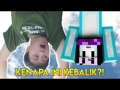 ¡¿ʞᴉlɐqǝʞ ʞoʞ - Minecraft Indonesia Parkour Upside Down