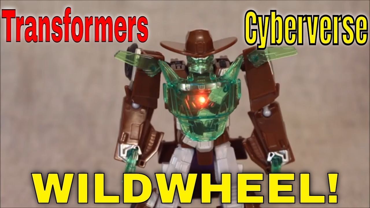 Rootin', Tootin'! Transformers Cyberverse Wildwheel Review By GotBot