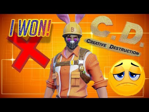 INCREDIBLE GAME RUINED BY A HACKER!! NO!!! (Creative Destruction)
