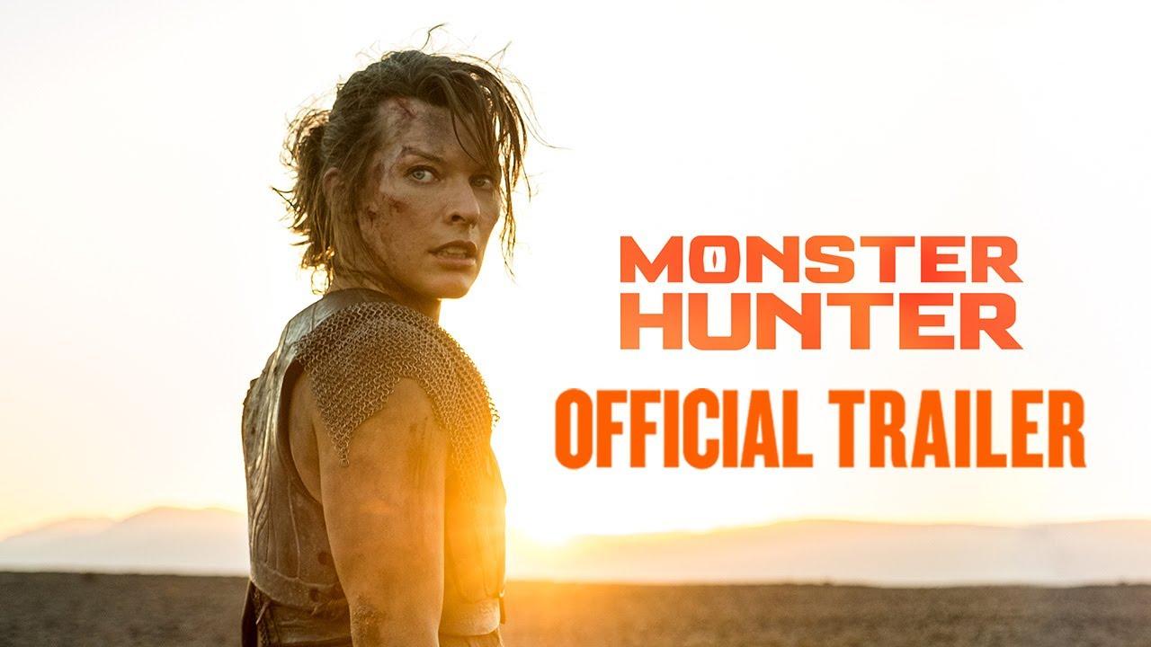 Monster Hunter Official Trailer In Cinemas This December English Hindi Tamil Telugu Youtube