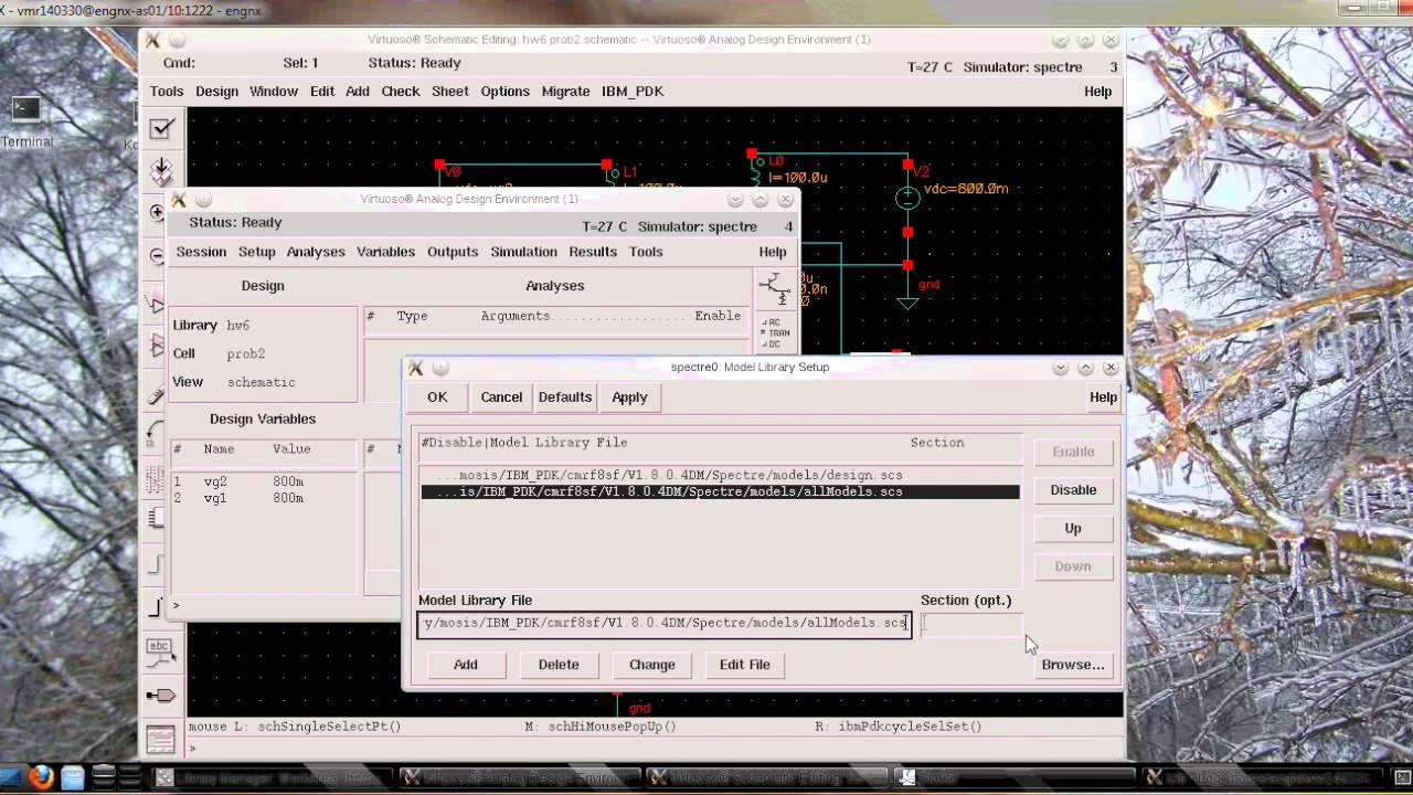 S - Parameter Simulation Cadence