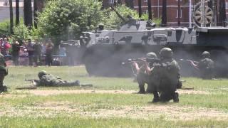 Антитеррористические учения в Белогорске, 2015.