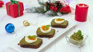 Тосты с песто и яйцом и тосты с рикоттой и фисташками - Рецепты от Со Вкусом