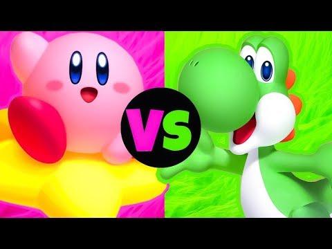Kirby vs Yoshi - Nintendo Rap Battle