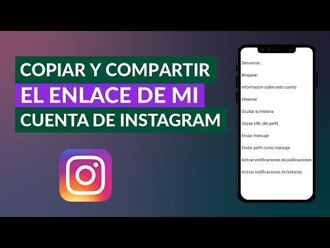 Cómo Copiar y Compartir el Enlace de mi Cuenta de Instagram