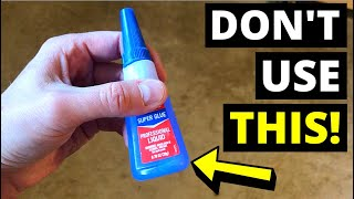 DON'T USE SUPER GLUE! Try This Instead..(Epoxy Adhesive/5-Minute Epoxy/Epoxy Glue)