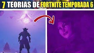 7 TEORIAS de FORTNITE TEMPORDA 6 que POCOS CONOCEN thumbnail