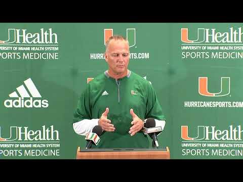 Coach Mark Richt | Weekly Presser | 08.28.18