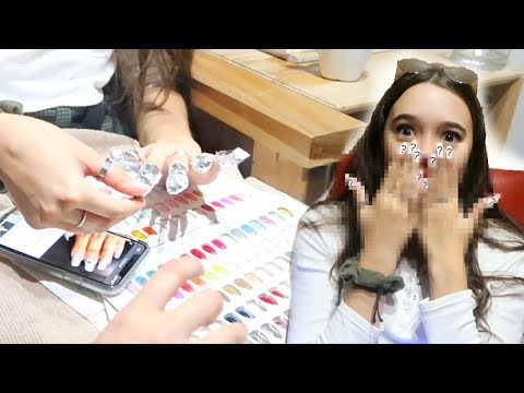 I Get $200 Acrylic Nails Done in NYC! Too much $$$? Fiona Frills