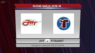 JHT - Titaanit 05.01.2019 maalikooste