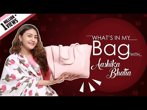 What鈥檚 In My Bag With Aashika Bhatia | Bag Secrets Revealed | Exclusive | India Forums