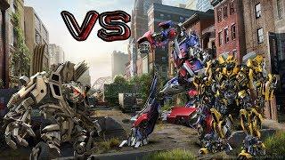 Transformers: The Game | Modding #1 | Optimus Prime & Bumblebee Vs Bonecrusher!