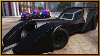 GTA 5 Roleplay - BATMOBILE DESTROYING COPS | RedlineRP