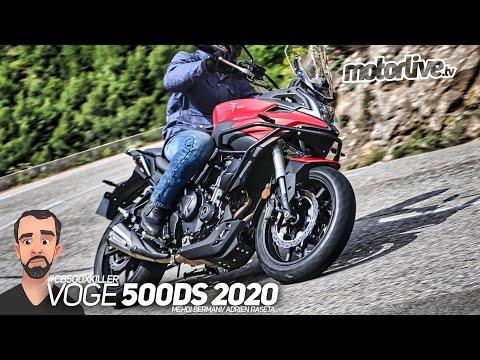 VOGE 500 DS 2020 | ESSAI MOTORLIVE