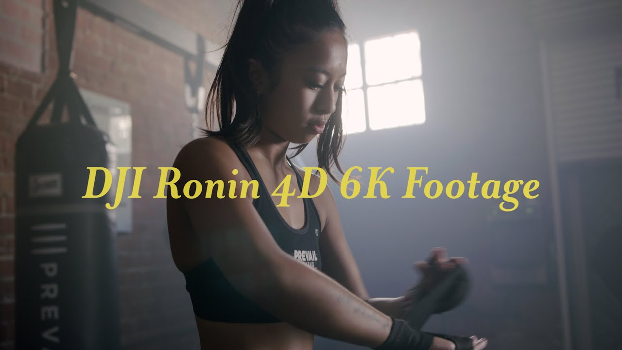 DJI Ronin 4D Cinematic 6K Example Footage