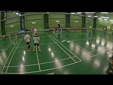 Hillerød Badmintonklubs åbne U17ABC og U19 AB turnering HD Finale (DEL 2)