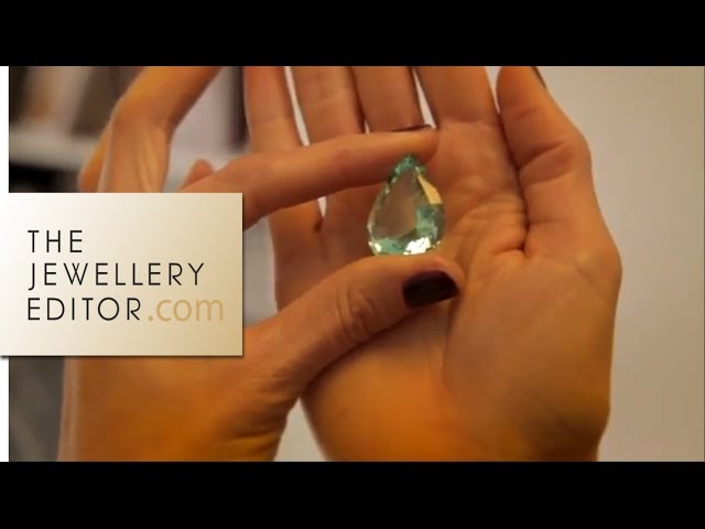 Video inside Louis Vuitton's high jewellery gem department