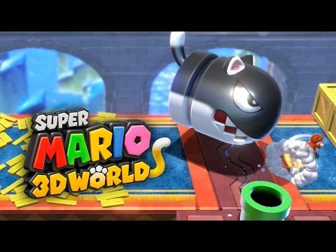 SUPER MARIO 3D WORLD #5 - Detonando com o Mundo do Gelo!!!