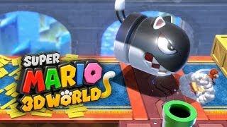 SUPER MARIO 3D WORLD #5 - Detonando com o Mundo do Gelo!!!