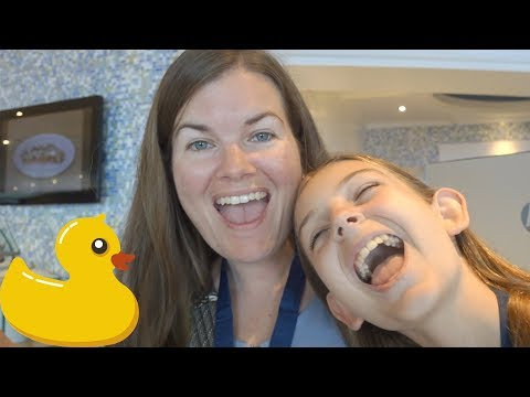 CARIBBEAN CRUISE TRAVEL DIARY | WINNING GAMES AND HUNTING DUCKS AT SEA