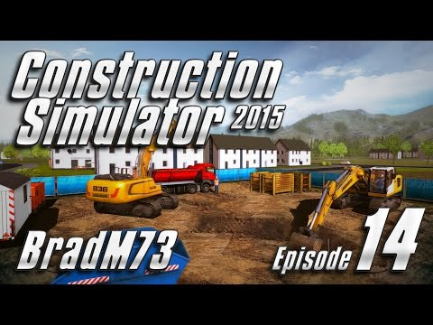 Construction Simulator 2015 - Episode 14 - Laying Pipe!!