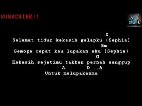 Sephia - Shella On 7   [Chord+Lyrics Music]