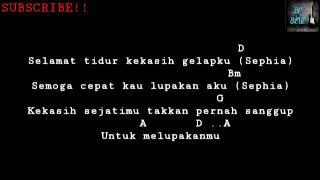 Download lagu Sephia - Shella On 7 | [Chord+Lyrics Music]