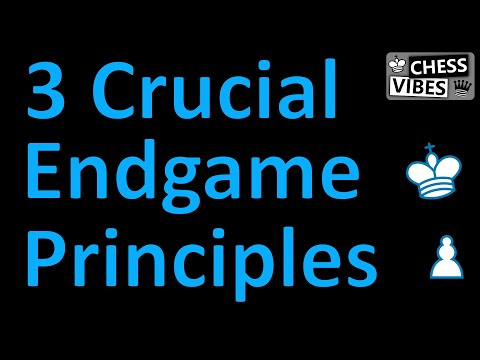 3 Chess Endgame Principles You Need To Know!