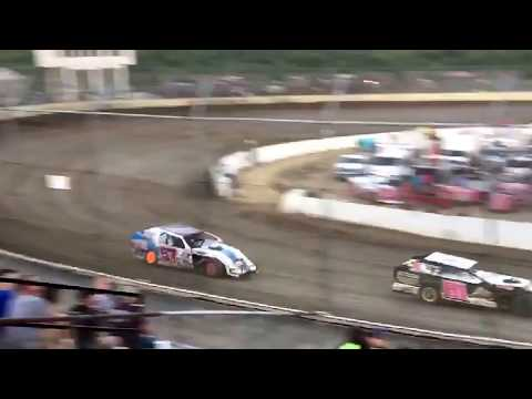 Earl pryor 57E heat race I-55 raceway 8/18/17