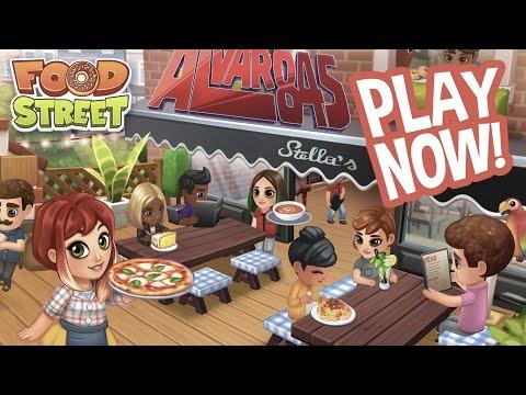 ¡¡NUNCA HAS VISTO UN CAMARERO MEJOR!! | Food Street Game con TheAlvaro845 | Español