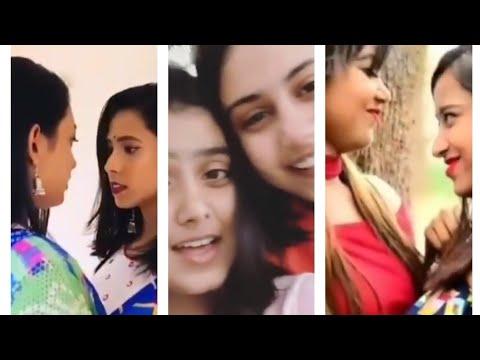 Download Indian Lesbian Reels +Tik tok video | Indian Lesbian Love Story | Desi lesbian kiss