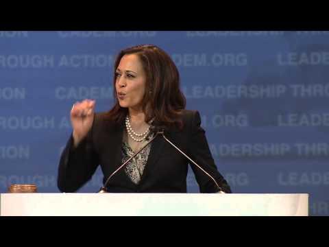 Kamala Harris at CA Democrats Convention 2015
