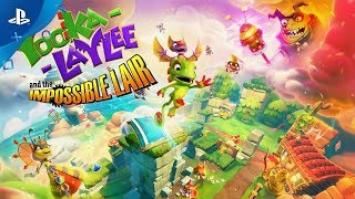 Yooka-Laylee and the Impossible Lair - Alternate Level States Trailer | PS4